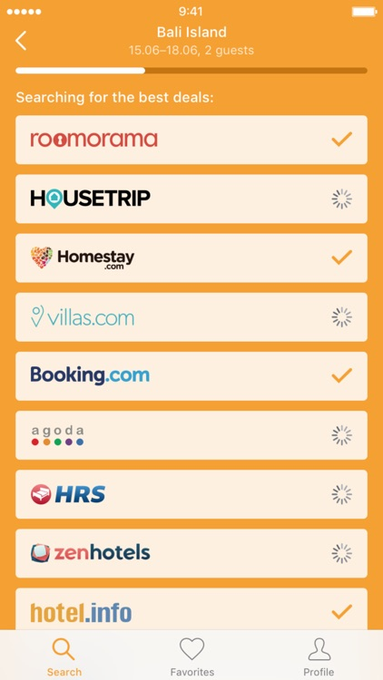 Сheap holiday accommodation — Apartments