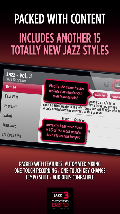 SessionBand Jazz 3 screenshot-3