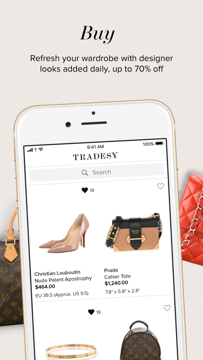 Tradesy Screenshot