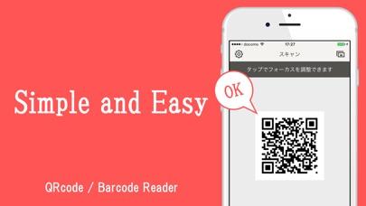 Simple QR/Barcode Reader Screenshot on iOS