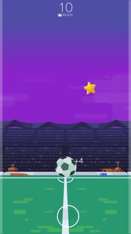 Kickup FRVR - Soccer Juggling screenshot-4