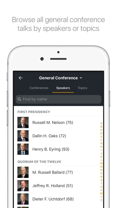 Screenshot for Gospel Library in United States App Store