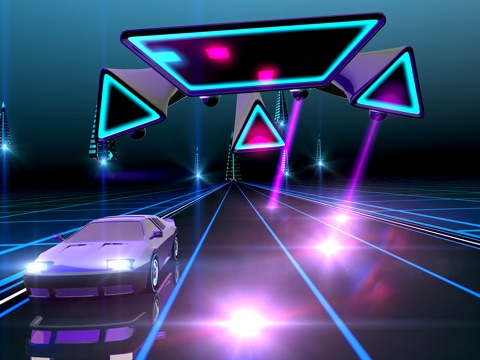 Neon Drive - '80s style arcade для iPad