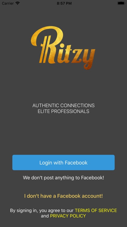 Ritzy - Elite Dating Singles