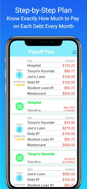 debt payoff planner tracker on the app store