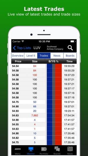 ADVFN Realtime Stocks & Crypto on the App Store