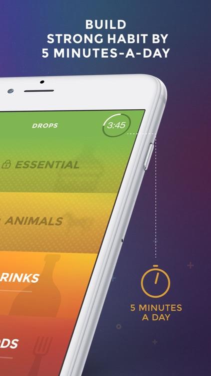 Drops: Learn 28 new languages screenshot-3