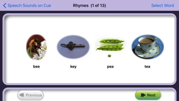 Speech Sounds on Cue (Australian English) screenshot-3