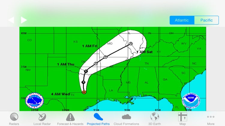 Hurricane Track- Storm Tracker
