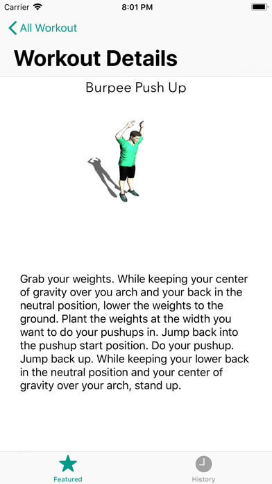 Weight loss workouts- 7 minute screenshot three
