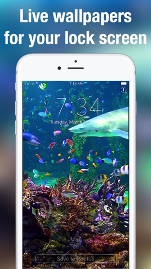 Aquarium Moving Wallpapers On The App Store