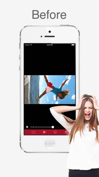 ビデオ回転 - ビデオ方向修正アプリのおすすめ画像1