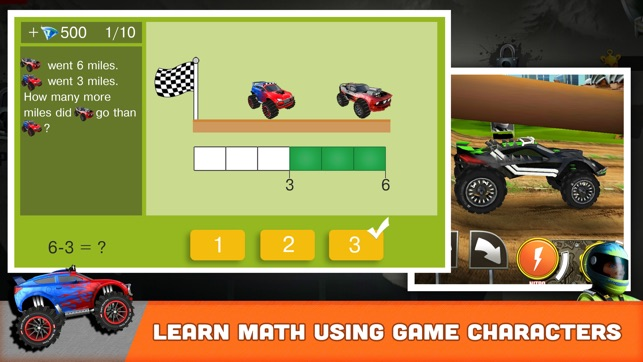 Wonderful  SKIDOS Kids Car Cool Math Game On The App Store
