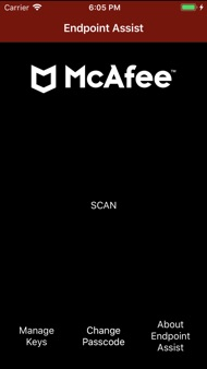 McAfee Endpoint Assistant iphone images