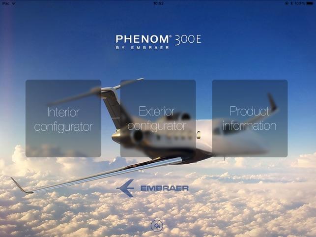 Phenom 300E Configuration Tool on the App Store