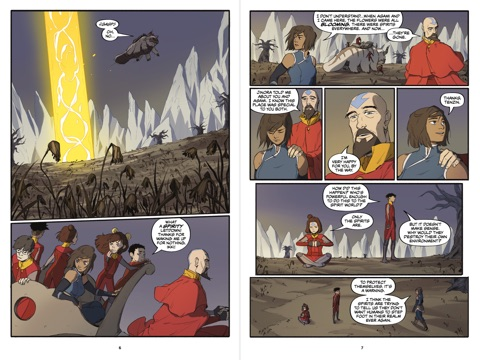 the legend of korra turf wars part two by michael dante dimartino
