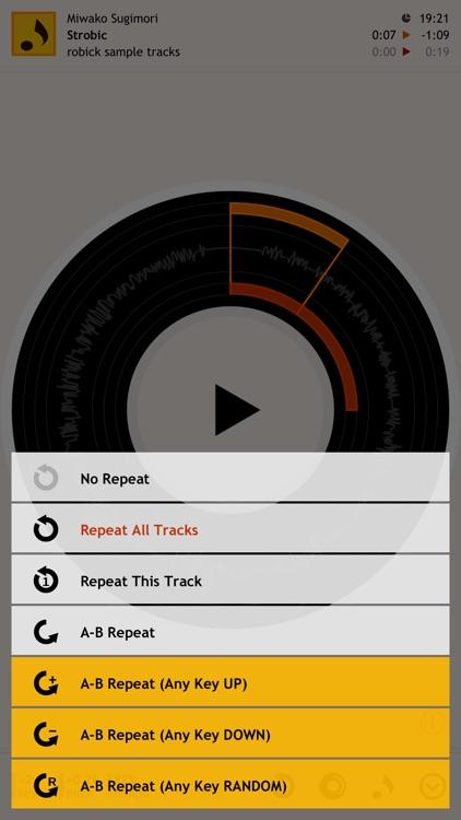 robick Audio Player screenshot-4