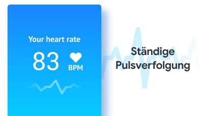 Screenshot for Pulsmesser: Gesundheit Tracker in Germany App Store
