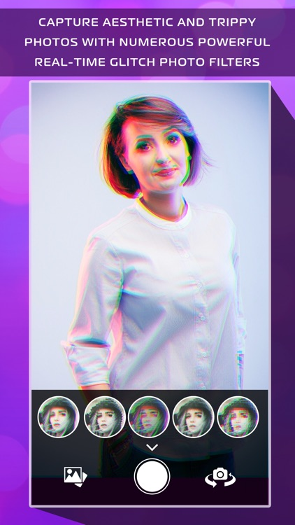 3D Glitch Photo Effects