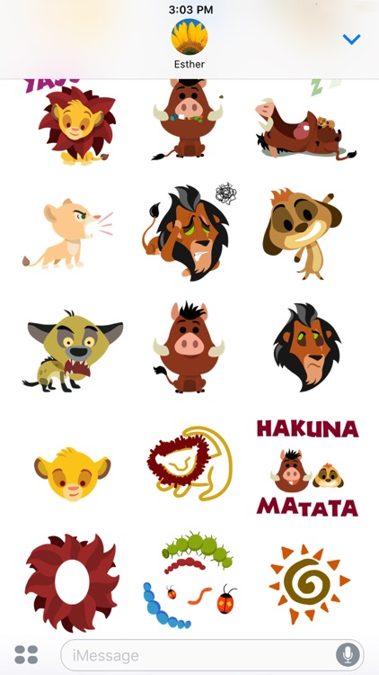 Disney Stickers: The Lion King