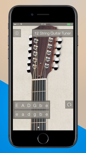 12 string guitar tuner app free