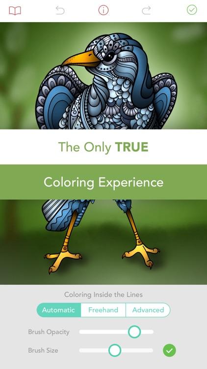 Pigment - Adult Coloring Book screenshot-3