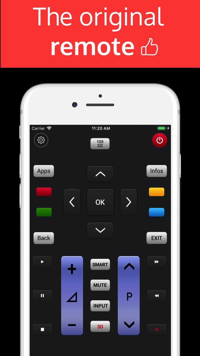 LGeeRemote: Remote For LG TV Screenshot
