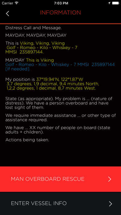 OLAS – Overboard Alert System screenshot four