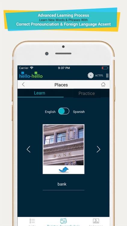 Learn Spanish Vocabulary (HH) screenshot-3