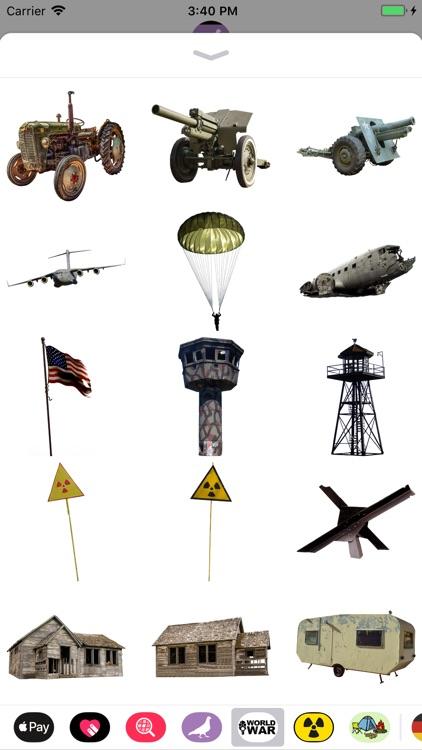 WORLD WAR Stickers screenshot-4