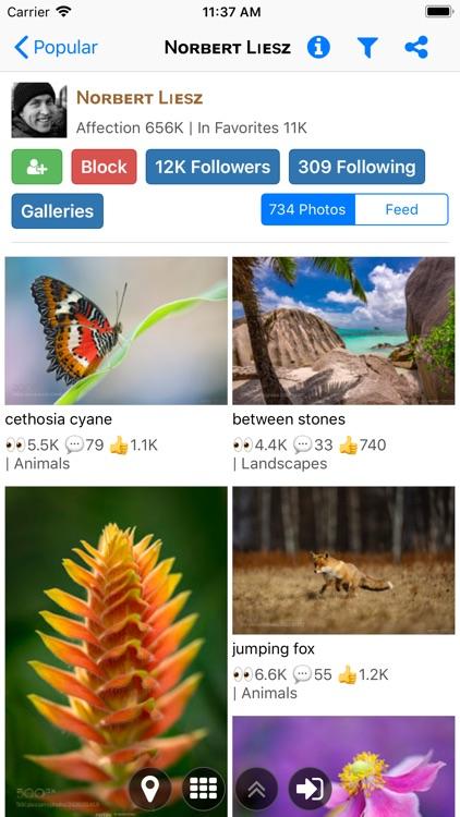 Explorer for 500px Pro screenshot-3