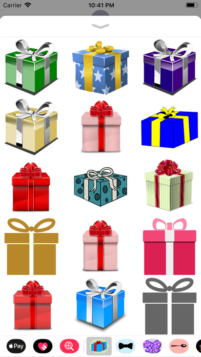 Gift Box Sticker Pack screenshot one
