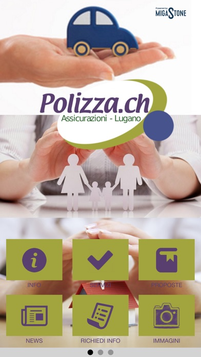 Polizza.ch screenshot