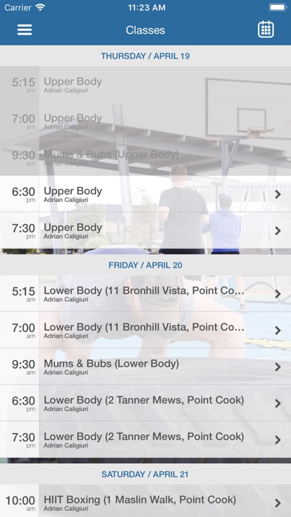 Blueprint body performance by mindbody incorporated blueprint body performance iphone ipad malvernweather Images