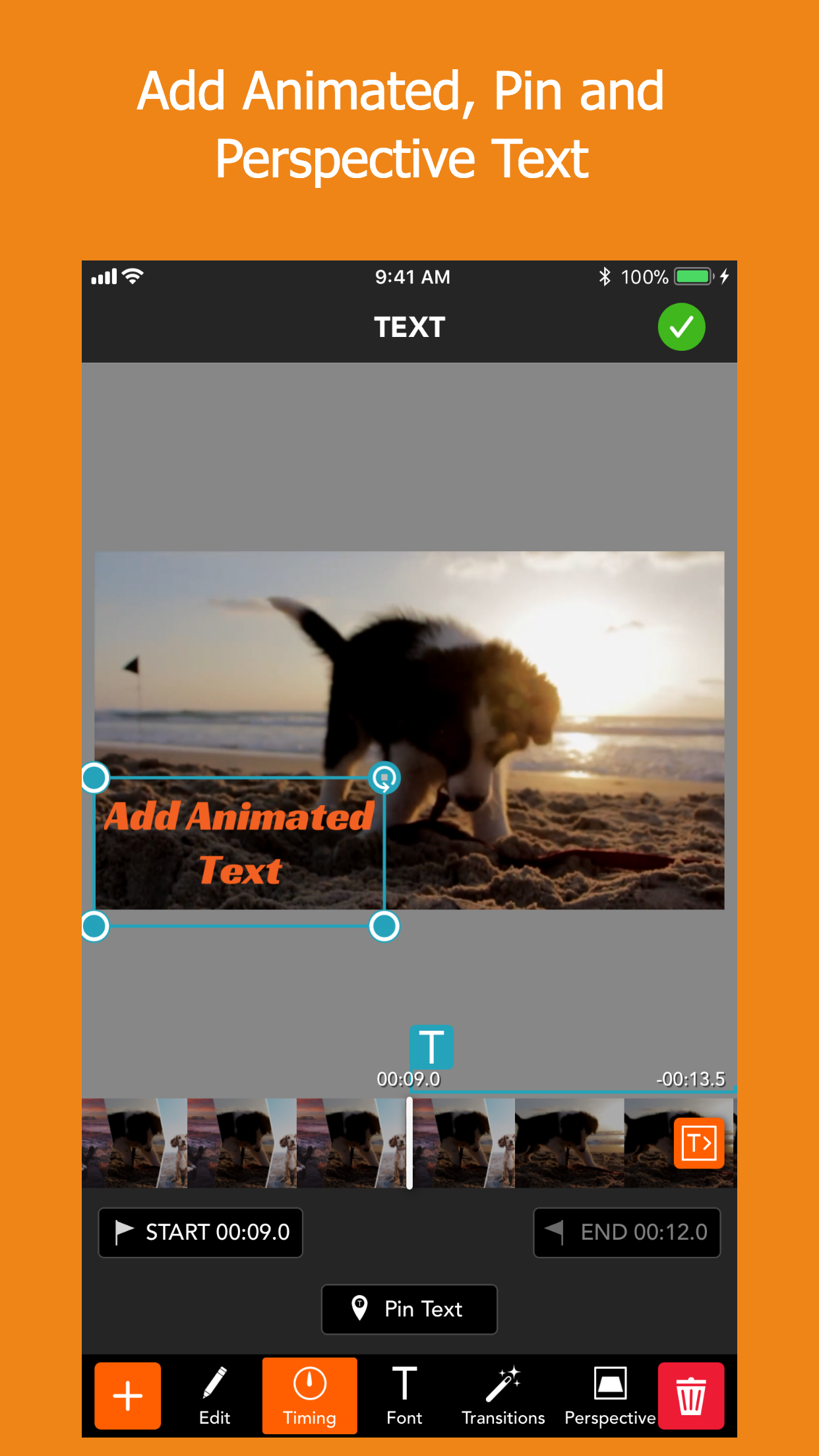 PicPlayPost - Video Editor Screenshot