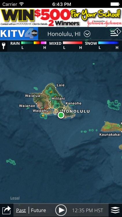 KITV Honolulu Weather-Traffic