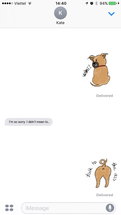 Tee - Puppy Stickers