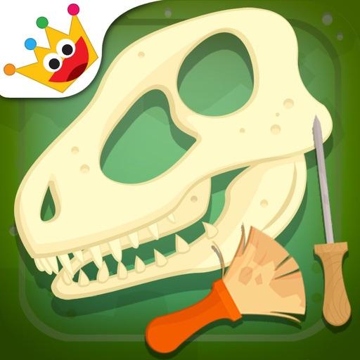 考古学者- キッズゲーム - 子供のための恐竜 - 幼児 知育 無料 - 知育 ぱずる