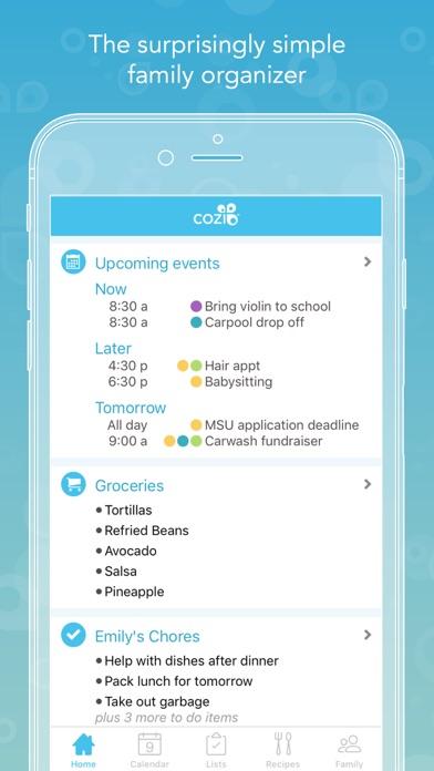 Cozi Family Organizer app image