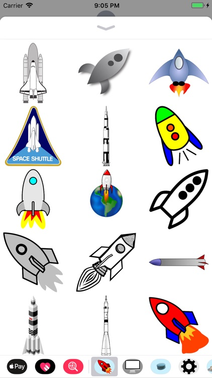 Rocket Sticker Pack screenshot-3
