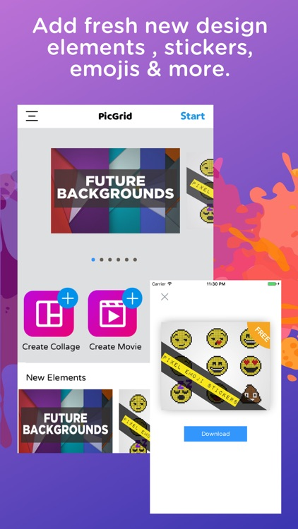 Pic Grid - Collage Photo Maker screenshot-3