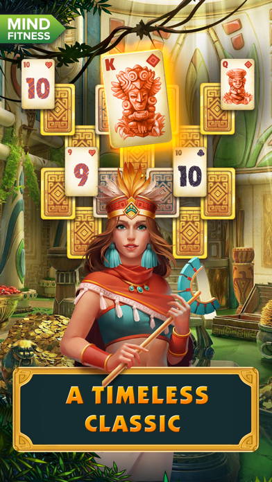 Solitaire Treasure of Time screenshot 1