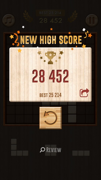 Wooden Block Puzzle Game screenshot-4