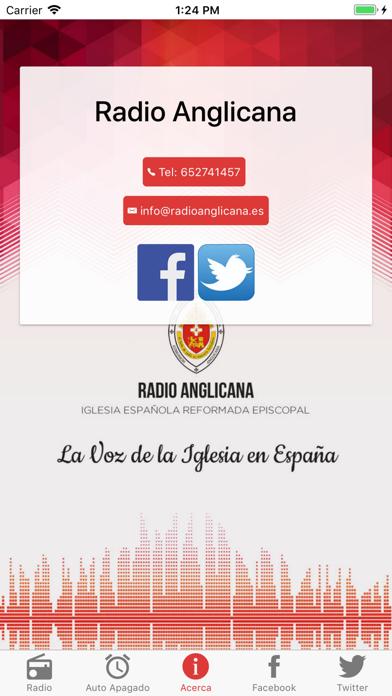 Radio Anglicana España screenshot three