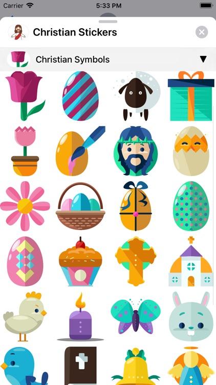 Christian Stickers App screenshot-6