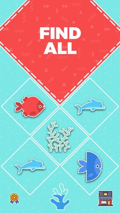 Go Merge Fish! Terrarium Game screenshot two