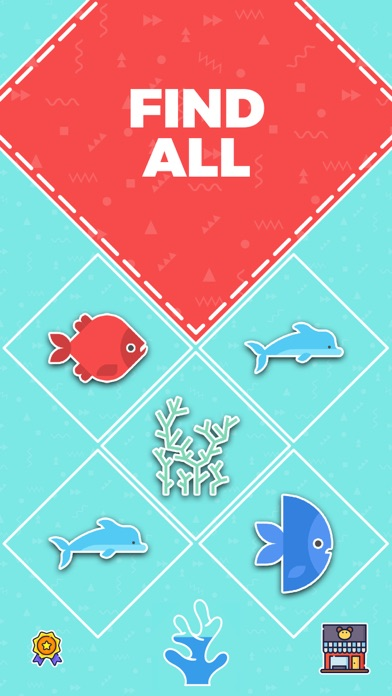 Go Merge Fish! Terrarium Game screenshot two