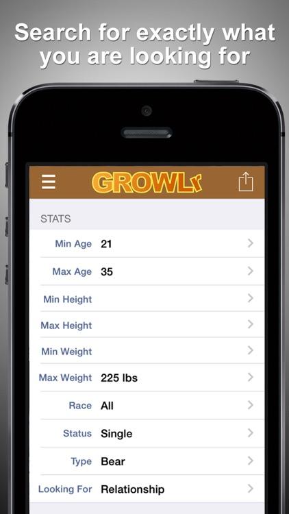 GROWLr: Gay Bear Social Media screenshot-4