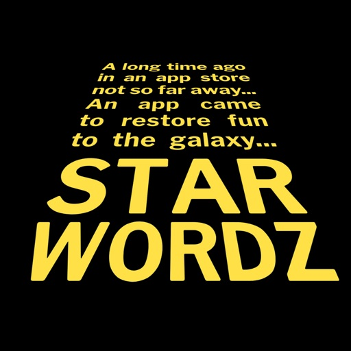 Download Star Wordz free for iPhone, iPod and iPad