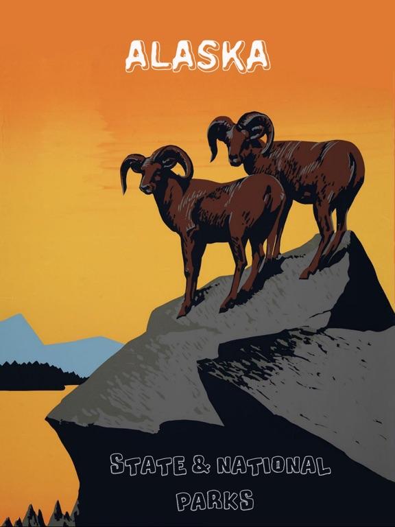 Alaska Parks National & State-ipad-0